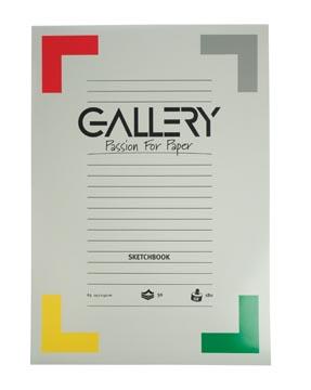 Gallery bloc de croquis, ft 29,7 x 42 cm (A3)