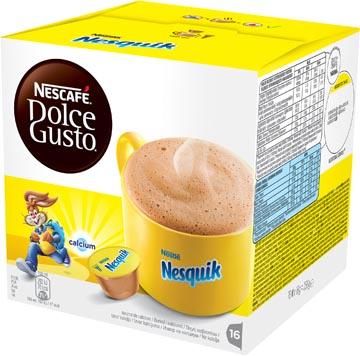 Nescafé Dolce Gusto dosettes, nesquik, paquet de 16 dosettes