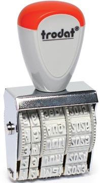 Trodat tampon dateur Classic Line 4 mm, français