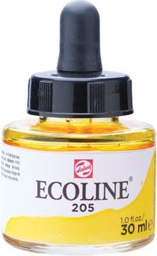 Talens Ecoline peinture à l'eau flacon de 30 ml, jaune citron