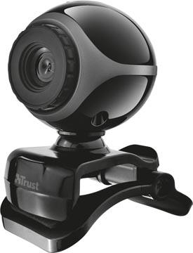Trust Exis webcam, avec microphone intégré