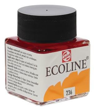 Talans Ecoline peinture à l'eau flacon de 30 ml, orange clair