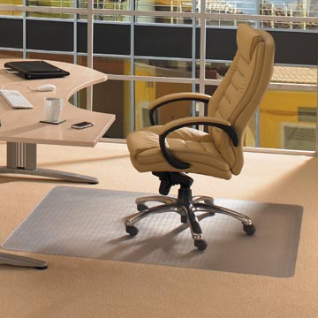 Floortex tapis de sol Computex, pour moquettes, rectangulaire, ft 120 x 150 cm