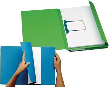 Jalema dossier Secolor Combi, paquet de 10 pièces, vert