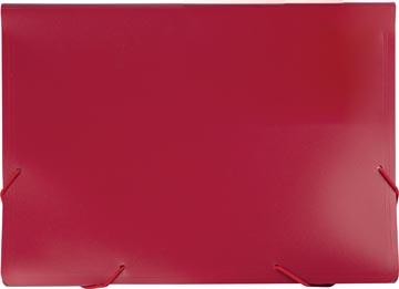 Beautone voorordner, A4, 13 vakken, rouge