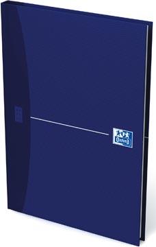 Oxford OFFICE Essentials cahier rembordé, 192 pages, ligné, ft A5, original blue