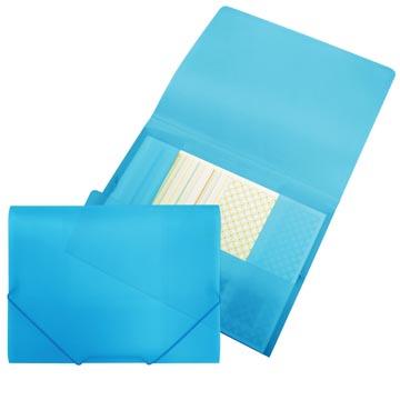 Beautone Chemise à rabats et élastiques, bleu