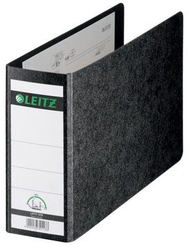 Leitz classeur en carton 180° ft A5 oblong, dos de 7,7 cm, noir