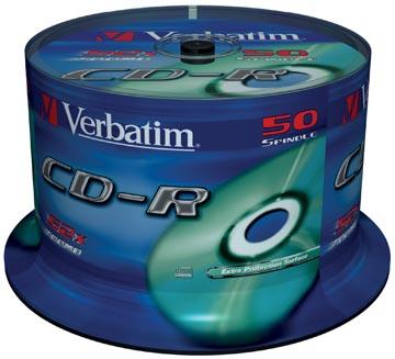Verbatim CD enregistrable Extra Protection, spindle de 50 pièces