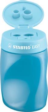 STABILO EASYsharpener taille-crayon, 2 trous, pour droitiers, bleu