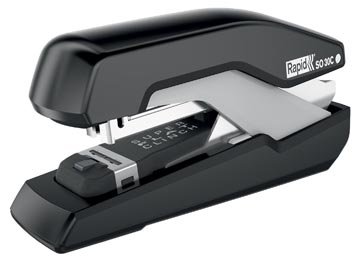 Rapid agrafeuse SO30C Flat Clinch noir