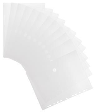 Tarifold pochette perforée A4, paquet de 12 pièces