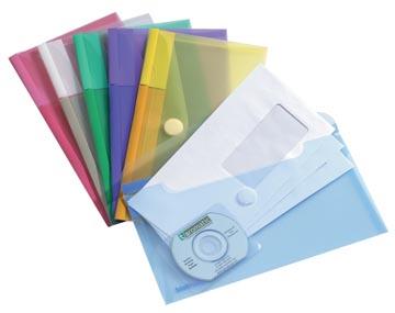 Tarifold pochette-documents Collection Color pour ft chéquier (250 x 135 mm), paquet de 6 pièces