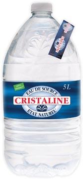 Cristaline eau, bouteille de 5 L