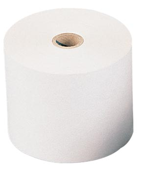 Bobine thermique, ft 57 mm, diamètre +-42 mm, mandrin 12 mm, longueur 25m