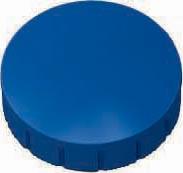 Maul aimant Solid, diamètre 24 mm x 8 mm, bleu, boîte de 10 pièces