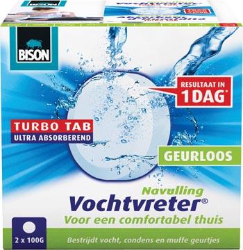 Bison recharge pour absorbeur d'humidité Ambiance 100 gram, boîte de 2 pièces
