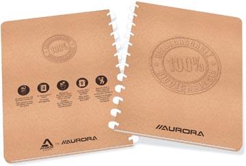 Adoc cahier Bio, ft A4, 144 pages, quadrillé 5 mm,