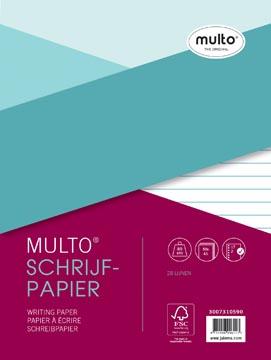 Multo liasse pour fardes, pour ft A5, 28 lignes, avec marge
