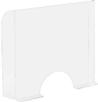 Exascreen écran de protection pour expiration, lisse, à poser, ft 95 x 68 cm