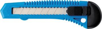 Westcott office Cutter, corps plastique, 18mm, bleu