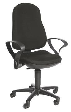 Topstar chaise de bureau Support P, noir