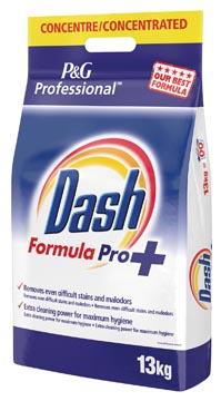 Dash lessive en poudre Formula Pro, pour le ligne blanc, 130 doses, sachet de 13 kg