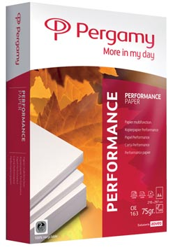 Pergamy papier d'impression Performance, ft A4, 75 g, paquet de 500 feuilles