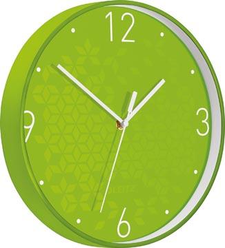 Leitz WOW Horloge murales, vert