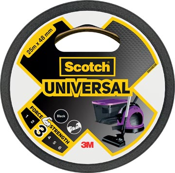 Scotch ruban de réparation Universal, ft 48 mm x 25 m, noir