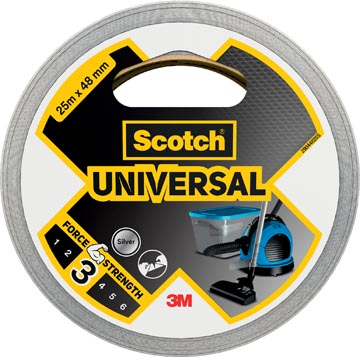 Scotch ruban de réparation Universal, ft 48 mm x 25 m, argent