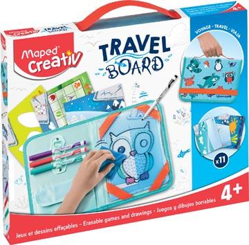 Maped Travel Board tableau blanc transparente animaux
