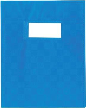 Protège-cahiers bleu