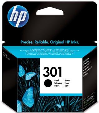 HP cartouche d'encre 301, 190 pages, OEM CH561EE, noir