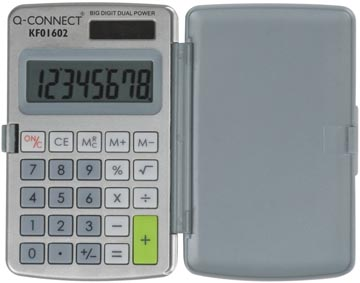 Q-Connect calculatrice de poche KF01602