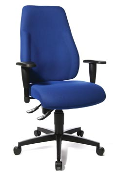 Topstar chaise de bureau Lady Sitness, bleu