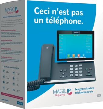 Magic IP Plug & Play by Interfone T57W, central téléphonique prêt à l'emploi
