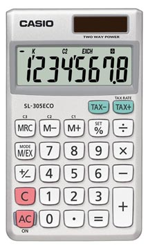 Casio calculatrice de poche SL-305 ECO