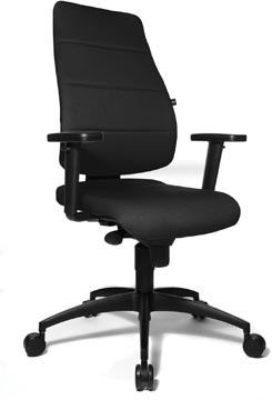 Topstar chaise de bureau Syncro Soft, noir