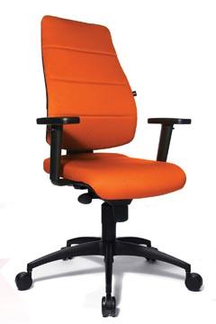 Topstar chaise de bureau Syncro Soft, oranje