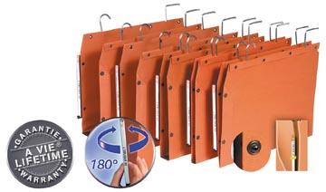 L'Oblique dossiers suspendus pour armoires TUB ft 350 x 250 mm, fond en V