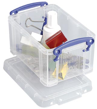 Really Useful Box 0,7 l, transparent