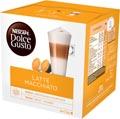 Nescafé Dolce Gusto dosettes de café, latte macchiato, paquet de 16 dosettes